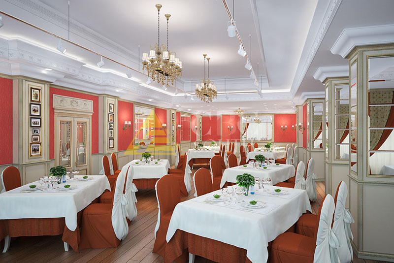 Ремонт и отделка ресторанов, кафе и бутиков в Москве под