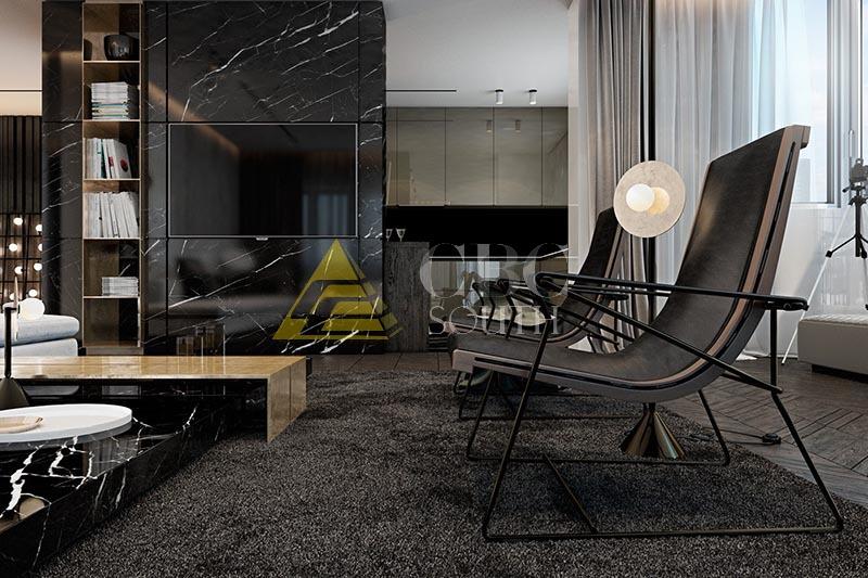 Специфика дизайна интерьера квартиры в стиле хай-тек